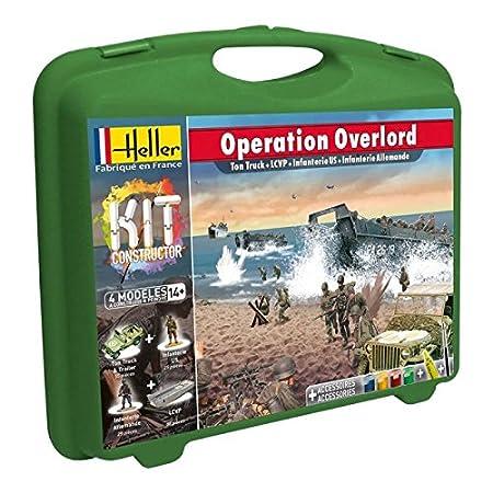 Heller - 62002 - Maquette De Bateau - Opération Overlord - Grande Mallette - 241