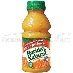 Floridas Natural Growers Pride Orange Juice, 10 Fluid Ounce -- 24 per ...