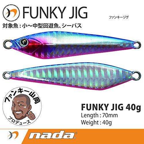 nada(ナダ) nada.(ナダ) FUNKY JIG(ファンキージグ) 40g 酔イドレファンキー 35124の商品画像