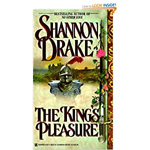 The King's Pleasure (Zebra Books) Shannon Drake