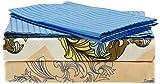 Dreamline dsn-05 Double Bedsheets 229 x 274 cm -Marine