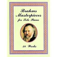 Brahms Masterpieces for Solo Piano 38 Works 勃拉姆斯...