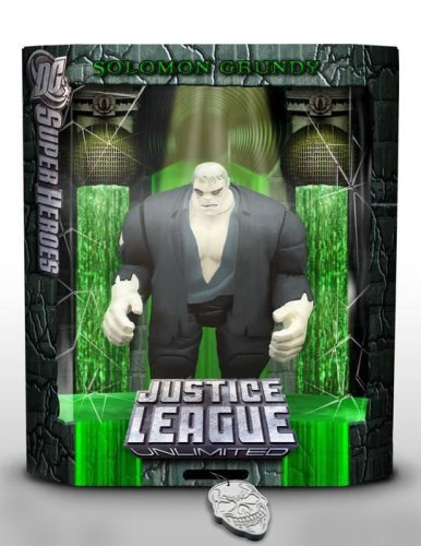 Buy Low Price Mattel Justice League Unlimited Solomon Grundy 2006 Comic Con DC Superheroes Exclusive Figure (B000I42UR4)
