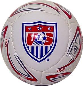 Buy 2014 Team USA Soccer Ball-Home-#5 White by Rhinox