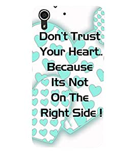 HTC DESIRE 728 TEXT Back Cover by PRINTSWAG