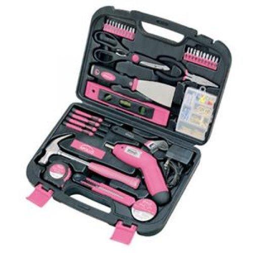 Apollo #Dt0773N1 135 Pc Household Kit Pink