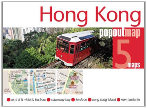 Hong Kong Popout Map (Footprint Popout Maps)