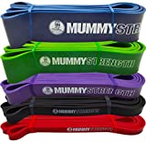 """Green - SINGLE BAND - MummyStrength Pull Up Assist & Resistance Bands 