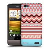 Head Case Designs Bubblegum Print Medley Protective Snap-on Hard Back Case Cover for HTC One V