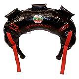 Bulgarian Bag - New Black PVC - Suples - The Original (Fitness, Crossfit, Wrestling, Judo, Grappling, Functional Training, MMA, Sandbag, Training Bag, Weighted Bag, Weight Bag) (13)