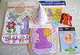 1歳誕生日パーティーセット 女の子用