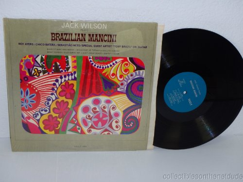 plays brazilian mancini LP by JACK WILSON