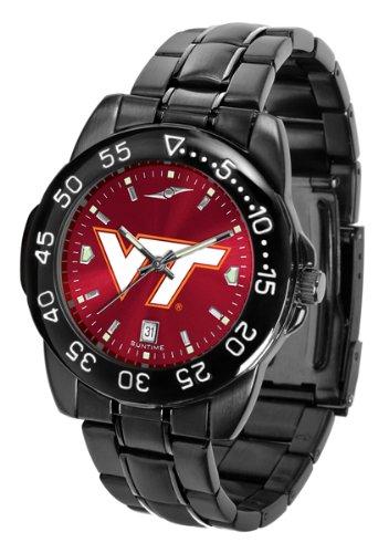Virginia Tech Hokies Mens Fantom Anochrome Sports Watch