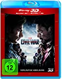 The First Avenger: Civil War 3D +2D [3D Blu-ray]