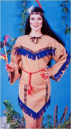 Native American Princess Adult Halloween Costume Size Standard