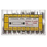 360 Pcs Watch Wrist Band Spring Bars Strap Link Pins 21mm 22mm 23mm 24mm 25mm