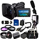 Sony HDR-PJ790V High Definition Handycam Camcorder with 3.0-Inch LCD . Includes 0.45X Wide Angle Lens, 2X Telephoto Lens, 3 Piece Filter Kit , 32GB Memory Card,Mini Zoom Microphone, LED Video Light, Tripod, Case & More!