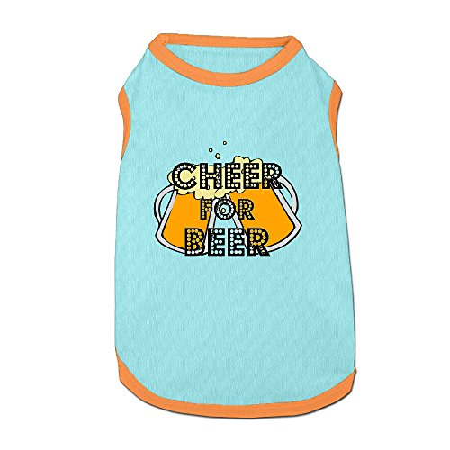 Cheer For Beer Unique Dog Coats Dog Costumes (Dog Beer Holder compare prices)