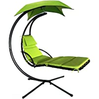 FDW Hanging Chaise Lounger Hammock Chair