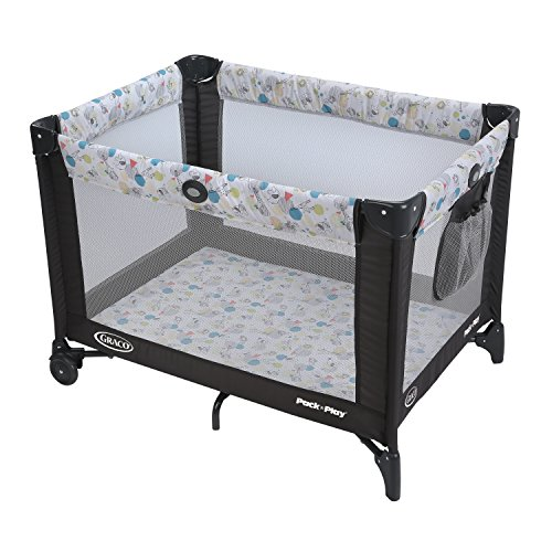 Lowest Price! Graco Pack 'n Play Playard with Automatic Folding Feet, Carnival