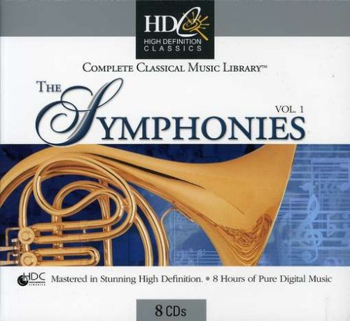 Complete Classical Music Library: The Symphonies, Vol. 1 [Box Set]