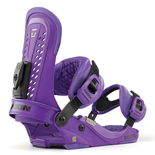 Union Force Snowboard Bindings Purple Sz L/XL (10.5-14)