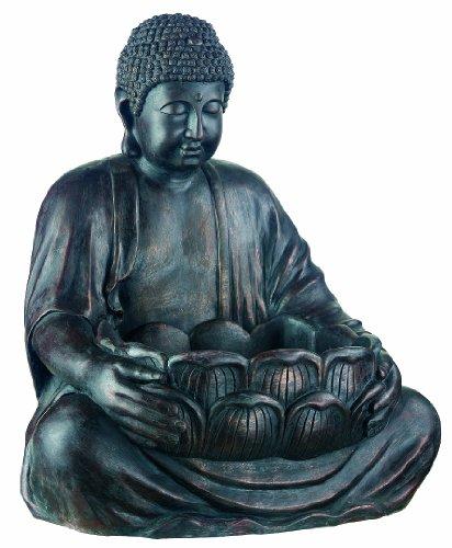 Smart Solar Buddha with Lighting
