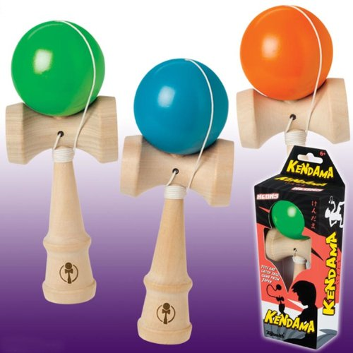 Toysmith 1989 Deluxe Kendama Neon Assorted Colors