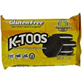 KinniToos Chocolate Sandwich Creme, Gluten Free, 8-Ounce Packages (Pack of 6)