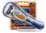 【数量限定!】Fusion 5+1 チャンピオン 替刃8B+ホルダーサンプル付セット