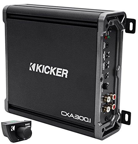 Package: Kicker 43CXA3001 300 Watt RMS Class D Car Amplifier + Kicker 43CXARC Remote Control For CX or PX SERIES Car Amplifiers (Kicker Bass Remote compare prices)