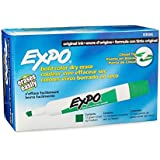 Expo Original Dry Erase Markers, Chisel Tip, 12-Pack, Green