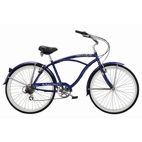 Men's 7 Speed Beach Cruiser Bicycle - 26