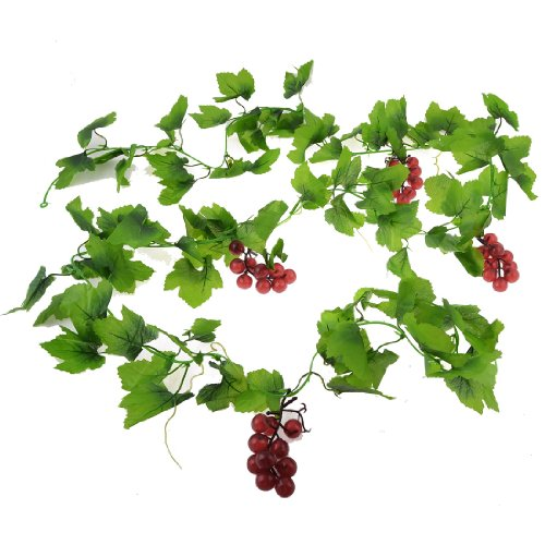 wandbehang-plastik-trauben-weinrot-grune-blatter-wand-ornament-hangende-rebe-24m