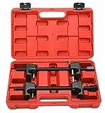 8MILELAKE Macpherson Strut Spring Compressor (Red)