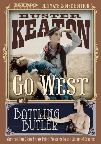 Battling Butler / Go West [DVD] [1925] [Region 1] [US Import] [NTSC]