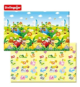 Dwinguler Eco-friendly Kids Play Mat - Safari Tour (Large)