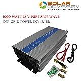 Pure Sine Wave Inverter 1000W - Continuous 1000 watt & surge 2000 watt peak* - 24 Volt DC input