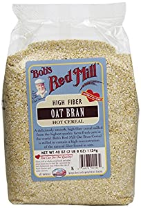 Bob's Red Mill Oat Bran Cereal, 40-Ounce (Pack of 4)