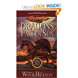 Dragons of a Fallen Sun (Dragonlance: The War of Souls, Volume I) by Margaret Weis and Tracy Hickman