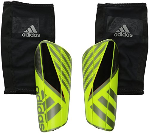 adidas Performance Ghost Pro Shin Guard, X-Small, Solar Yellow/Black/Iron Metallic Grey (Shin Guards For Kids compare prices)