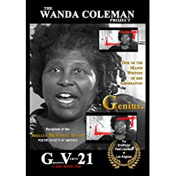 GRAFFITI VERITE' 21 (GV21) THE WANDA COLEMAN PROJECT: Genius. (period) (NO PPR)