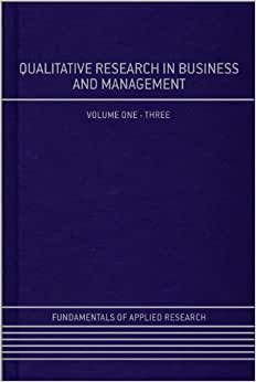 Qualitative Research In Business And Management (Fundamentals Of Applied Research)