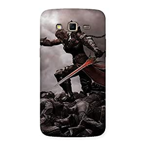 Gorgeous Warrior Sword Multicolor Back Case Cover for Samsung Galaxy Grand 2