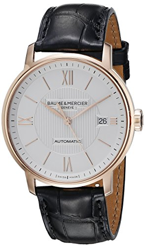 baume-et-mercier-classima-moa10037-gents-rose-gold-case-automatic-date-watch