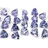 Tanzanite Gem Gemstones Trillion Natural Loose 3 Mm Gemstone Lot Wholesale Loose Tanzanite Gemstones