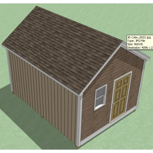 Tifany blog this week how to build a 12x16 shed plans Workshop plans 12x16