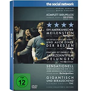 5136wRkWpKL. SL500 AA300  The Social Network (2 Disc Collector's Edition) (DVD) für 5€ + 1,10€ Versand