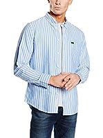 Lee Camisa Hombre Button Down (Azul Claro)