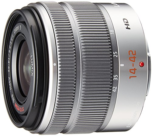 Panasonic LUMIX G VARIO 14-42mm / F3.5-5.6 II ASPH. / MEGA O.I.S. Digital Interchangeable Zoom Lens - H-FS1442A - Silver (Panasonic Lumix Lens compare prices)